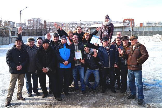 "Гонки на квадроцикле среди коллектива автошколы ""СТК"""